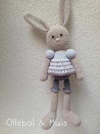 Crochet bunny girl