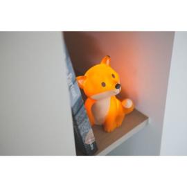 Fuchse Cesar Nachtleuchte / Kinderlampe orange
