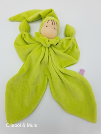 Butterfly doll apple green