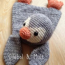 Crochet ragoll penquin