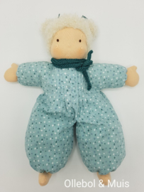 Soft doll slappe Lijs mint green blond hair