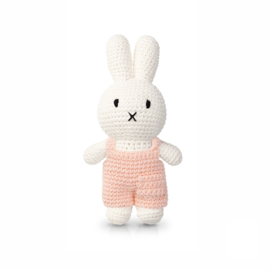 Miffy and her soft pink overall
