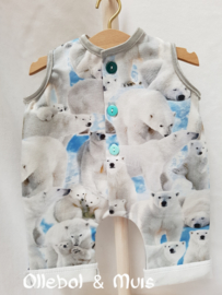 Jumpsuit with polarbears