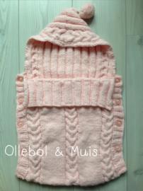Sleeping bag soft pink