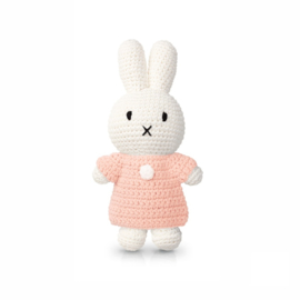 Miffy and her soft pink dress