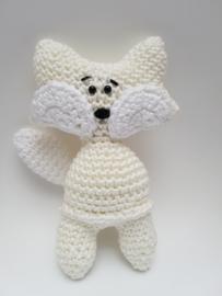 Crochet fox rattle