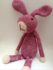 Crochet bunny reddisch