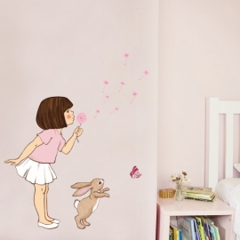 Belle Dandelion wall sticker