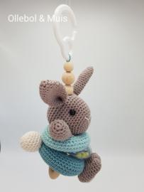 Maxicosi hanger / stroller hanger / pram hanger bunny