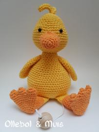 Music box little yellow duck