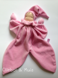 Butterfly doll soft pink