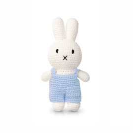 Miffy and her soft blue overall