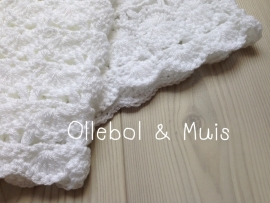 Crochet shawl , baby cloth