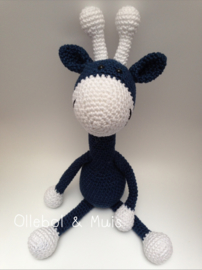 Crochet giraf dark blue