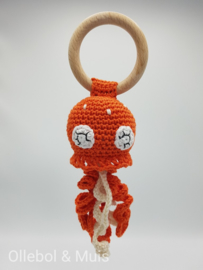 Rattle / teether orange