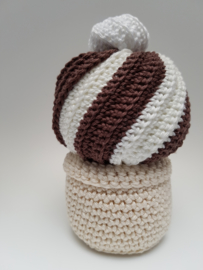 Rattle chocolat icecream cone