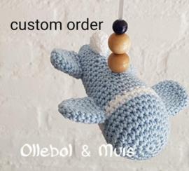 Custom order Pascale
