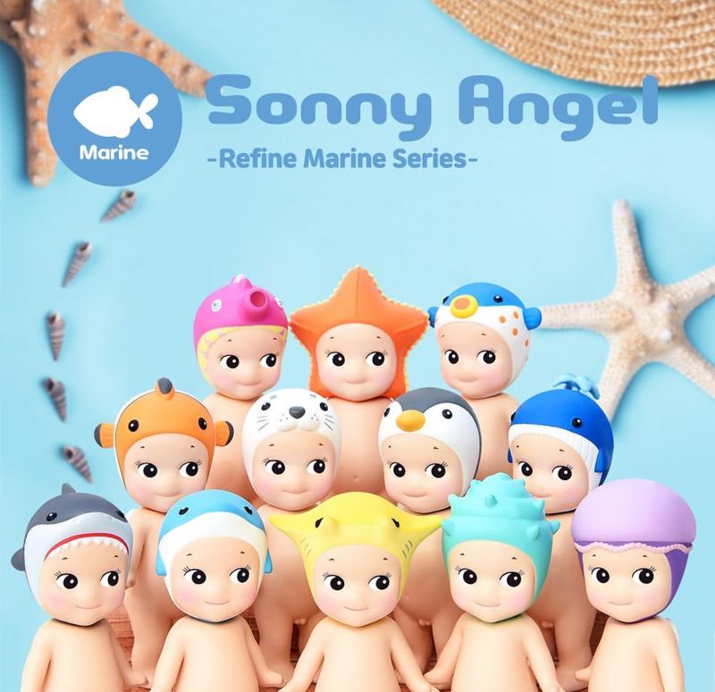 Sonny Angel marine trio
