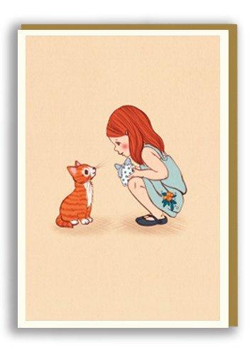 Greeting card Kitty