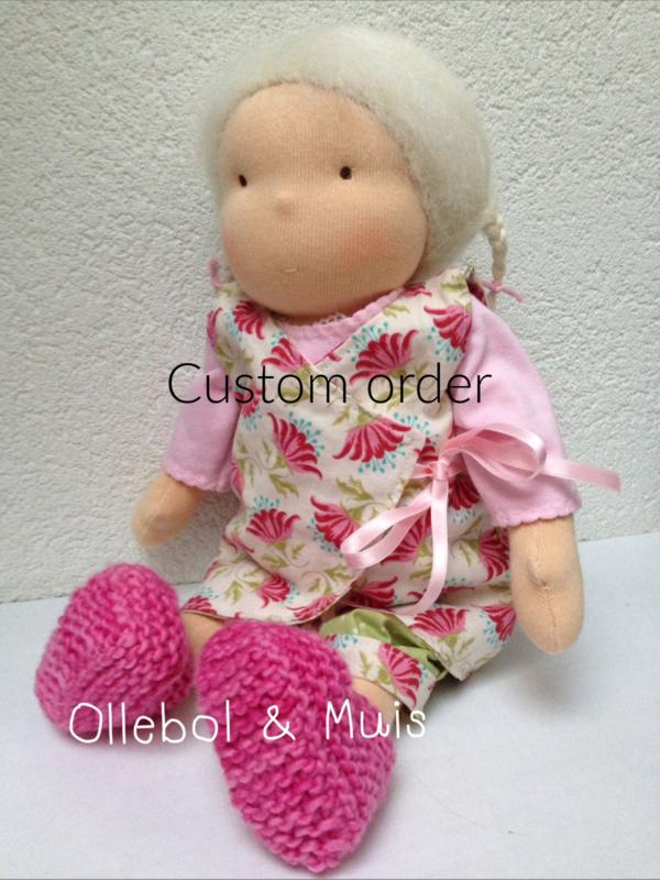 Custom order Waldorf pop