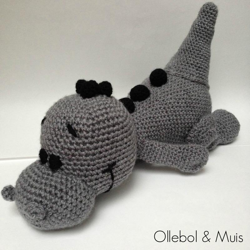 Wonderbaar Gehaakte draak | Verkocht uit voorraad | Ollebol & Muis OU-06