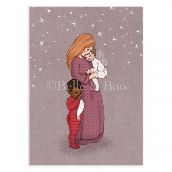 Belle & Boo ansichtkaart Sweet Dreams