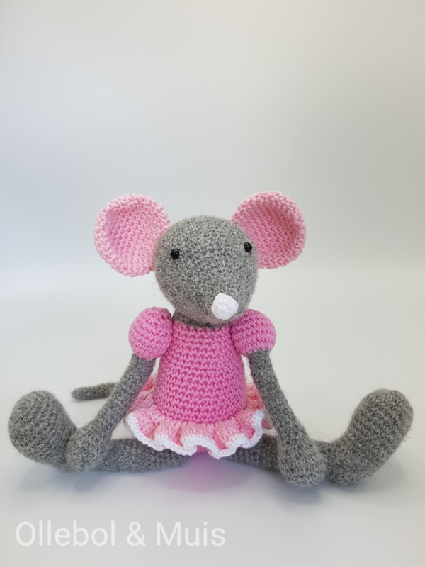 Gehäkelter Maus