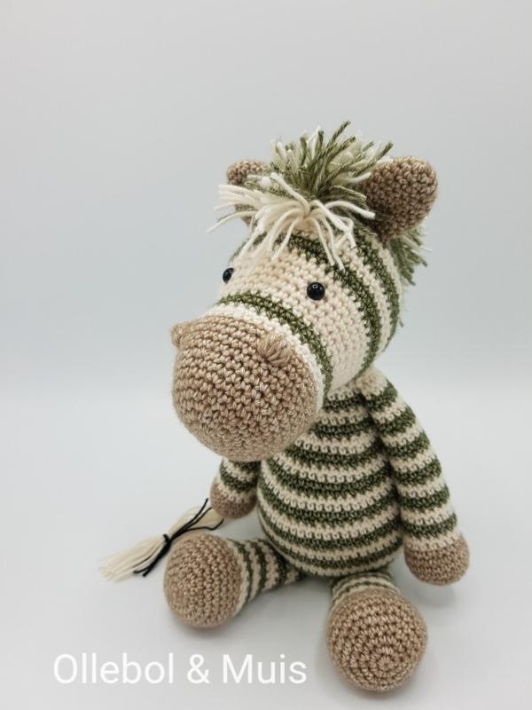 Zebra khaki