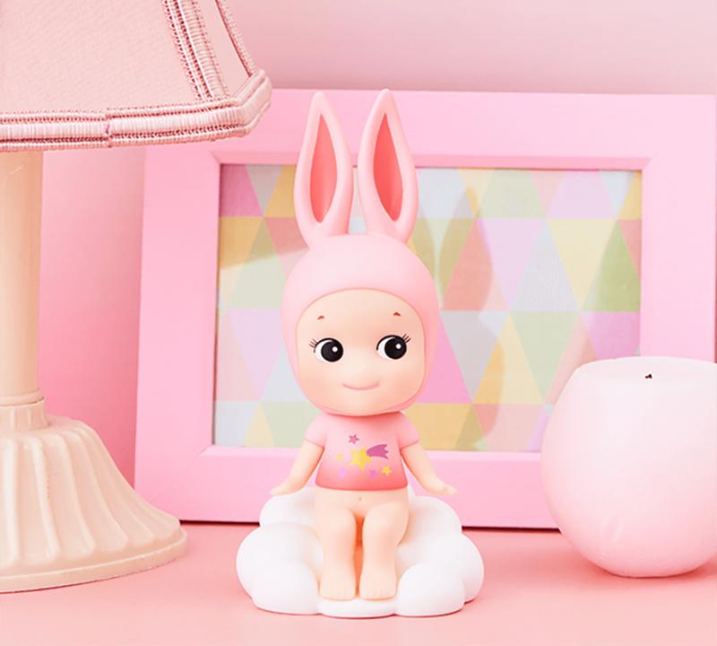 Sonny Angel Bobbing Head Cloud Rabbit