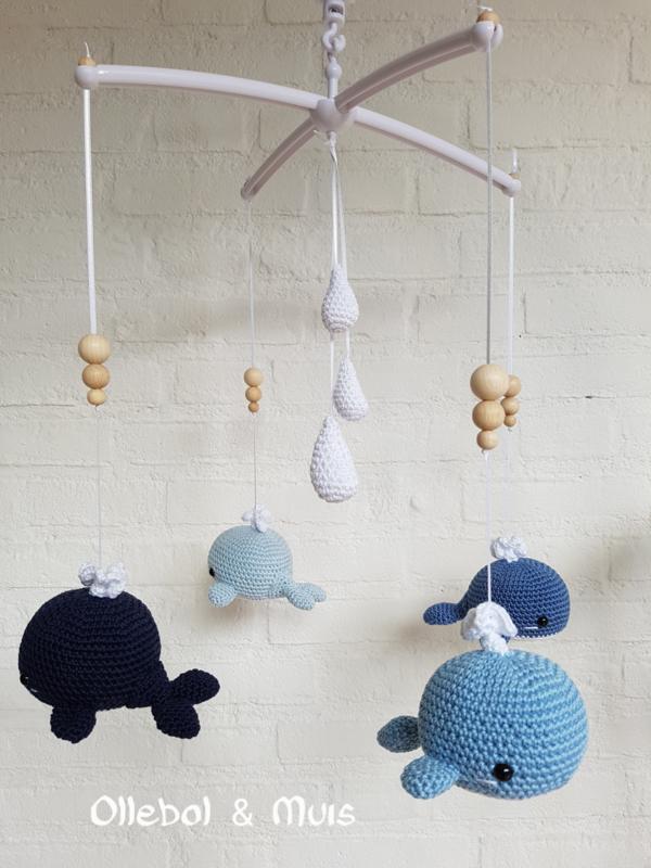 Muziekmobiel walvisjes