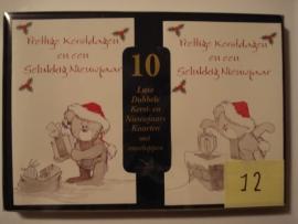 10 Marant Kerstkaarten nummer 12