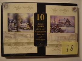 10 Marant Kerstkaarten nummer 18