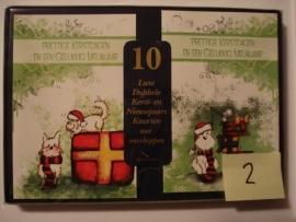 10 Marant Kerstkaarten nummer 2