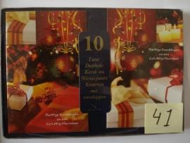 10 Marant Kerstkaarten nummer 41