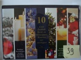 10 Marant Kerstkaarten nummer 39