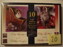 10 Marant Kerstkaarten nummer 20
