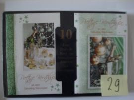 10 Marant Kerstkaarten nummer 29