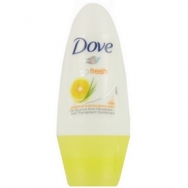 Dove Deo Roll-on Go Fresh Grapefruit 50ml ( 3stuks )