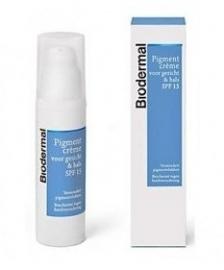 Biodermal Pigmentcreme Hals&Gezicht 50ml + SPF15