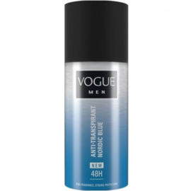Vogue Deospray Men – Nordic Blue 150ml