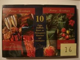 10 Marant Kerstkaarten nummer 16