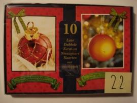 10 Marant Kerstkaarten nummer 22