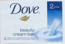 Dove Zeep Cream Bar 2x100gr