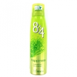 8 x 4 Deospray Women Happiness 150ml