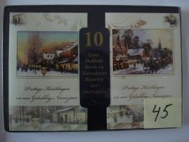 10 Marant Kerstkaarten nummer 45