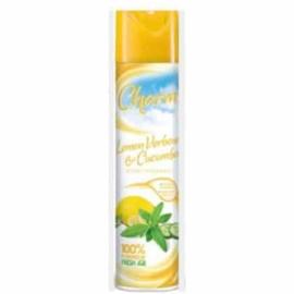 6x Charm Luchtverfrisser – Lemon Verbena & Cucumber 240ml