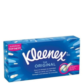 Kleenex Tissues – The Original 80stuks