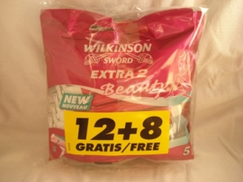 Wilkinson Beauty ( 12+8 mesjes )