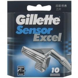 Gillette Scheermesjes Sensor Excel 10 mesjes