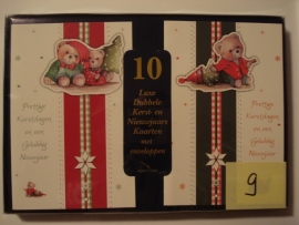 10 Marant Kerstkaarten nummer 9